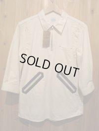 半額SALE!!¥17850→¥8925!ELNEST エルネスト IYOMANDE 7/S SHIRT 【NATURAL】