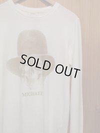 """半額SALE!!\9240→\4620!BIAS バイアス DEAD-MAN L/S Tee """"MICHAEL"""" OFF WHITE"""