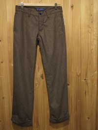 スペシャルSALE!!\21000→\9000 ! La rosa de la fabrica wool work pants brown