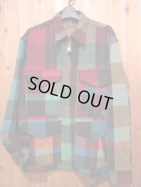 SALE!!\39900→\23940!Gypsy & sons WOOL CRAZY BLOCKCHECK SIZE L