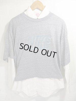 画像1: 90s NIKE ショート丈 Tシャツ