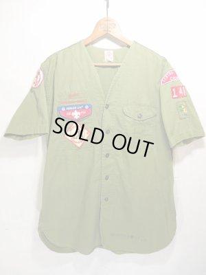 画像1: 1961年 USA Vintage BOY SCOUTS Shirt ビンテージ ボーイスカウトシャツ