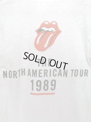 画像4: '89 ローリングストーンズ ツアー Tシャツ ROLLING STONES SIZE M