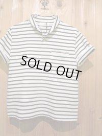 送料無料SALE!!! LAMOND ショールカラーポロシャツ ladys OFF × BLK