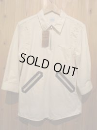 半額SALE!!¥17850→¥8925!ELNEST エルネスト IYOMANDE 7/S SHIRT 【NATURAL】