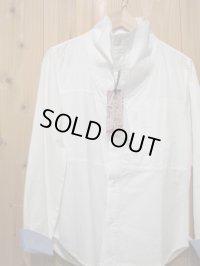 SALE!!定価¥10290! LAMOND スタンドネックシャツ WHITE