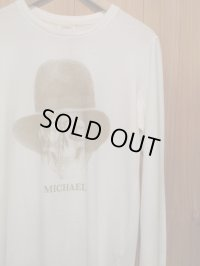 "半額SALE!!\9240→\4620!BIAS バイアス DEAD-MAN L/S Tee ""MICHAEL"" OFF WHITE"