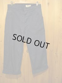 SALE!!\15750→\12600!SHANANA MIL USN DENIM CROPPED PANTS