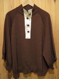 スペシャルSALE!!\25200→\10000! La rosa de la fabrica pullover knit BROWN
