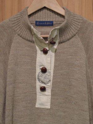 画像2: スペシャルSALE!!\25200→\10000!La rosa de la fabrica pullover knit oatmeal