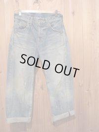 半額SALE!!\27300→\13650!La rosa de la fabrica cropped denim pants light