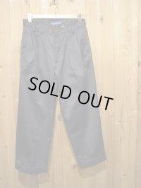 半額SALE!!\16800→\8400 !La rosa de la fabrica cropped trousers navy