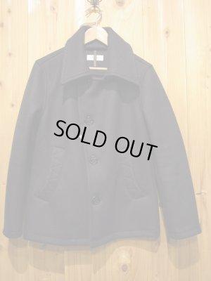 画像1: SALE!!¥33600→¥19900! LAMOND Heavy melton pea coat