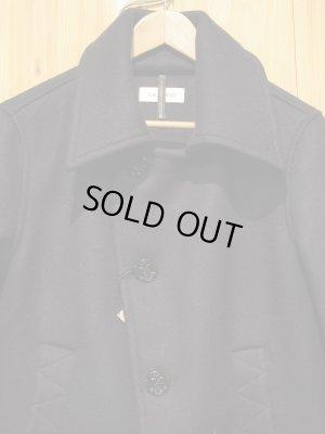 画像2: SALE!!¥33600→¥19900! LAMOND Heavy melton pea coat