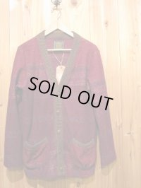 半額SALE!!\23100→\11550!Gypsy & sons JQ PILE カーデ wine