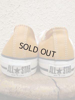 画像5: USA製 デッドストック CONVERSE コンバース ALL STAR LOW オールスター GOLD LEATHER ゴールドレザー