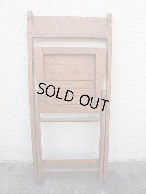 画像5: SALE!¥9800→¥6500!USA輸入 VINTAGE ホールディング チェア 折りたたみ椅子 A