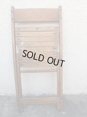 画像4: SALE!¥9800→¥6500!USA輸入 VINTAGE ホールディング チェア 折りたたみ椅子 A