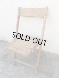 SALE!¥9800→¥6500!USA輸入 VINTAGE ホールディング チェア 折りたたみ椅子 B