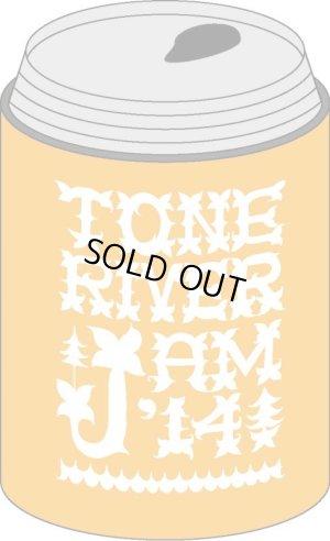 画像5: Tシャツ色Oatmeal 限定200セット!TONE RIVER JAM'14 スペシャルセット\6300→¥5000!(入場券&1ドリンク&Tシャツ色Oatmeal&タオル&缶クージー)