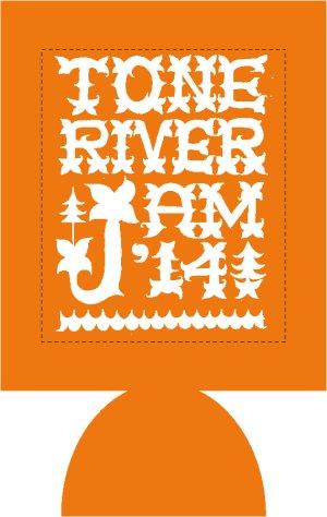画像2: 半額SALE!¥800→¥400! TONE RIVER JAM'14 缶クージー (保冷容器)