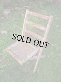 SALE!¥9800→¥6500!USA輸入 VINTAGE ホールディング チェア 折りたたみ椅子 paintB