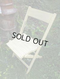 SALE!¥9800→¥6500!USA輸入 VINTAGE ホールディング チェア 折りたたみ椅子 G