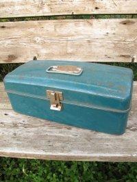USA輸入 VINTAGE ビンテージ MONGOMERY WARD HAW THORNE タックル BOX 道具箱