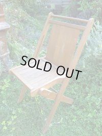 SALE!¥9800→¥6500!USA輸入 VINTAGE ホールディング チェア 折りたたみ椅子 H