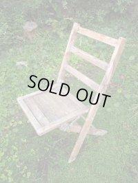 SALE!¥9800→¥6500!USA輸入 VINTAGE ホールディング チェア 折りたたみ椅子 paintA