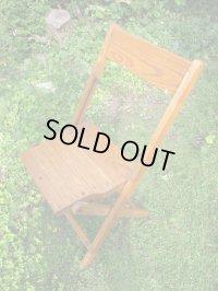 SALE!¥9800→¥6500!USA輸入 VINTAGE ホールディング チェア 折りたたみ椅子 F