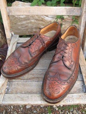 画像1: USA製 Vintage Wingtip dress shoes ビンテージ ウイングチップ シューズ
