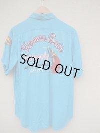 USA 50's Vintage ビンテージ ボーリングシャツ チェーンステッチ