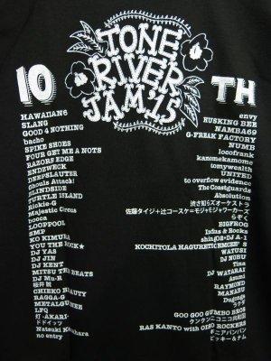 画像4: 半額SALE!¥2000→¥1000!TONE RIVER JAM'15 オフィシャル Tシャツ ブラック