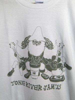 画像2: 半額SALE!¥2000→¥1000!TONE RIVER JAM'15 オフィシャル Tシャツ ホワイト