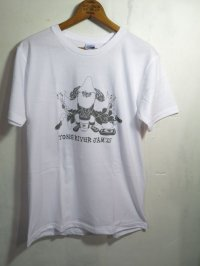半額SALE!¥2000→¥1000!TONE RIVER JAM'15 オフィシャル Tシャツ ホワイト