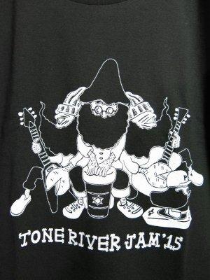 画像2: 半額SALE!¥2000→¥1000!TONE RIVER JAM'15 オフィシャル Tシャツ ブラック