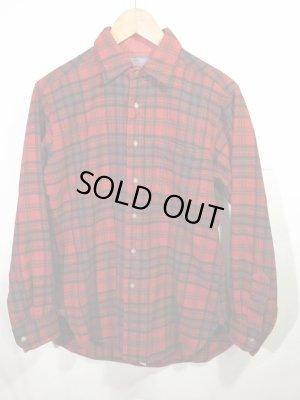 画像1: USA製 VINTAGE PENDLETON ペンドルトン  ウールシャツ