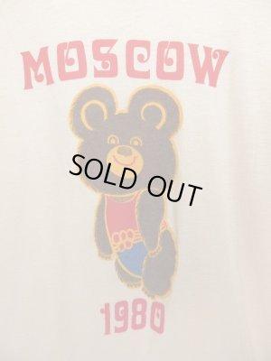画像2: USA製 '80 Vintage MOSCOW OLIMPIC ビンテージ モスクワ オリンピック こぐまのミーシャ Tシャツ