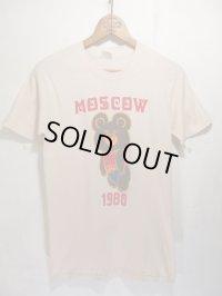 USA製 '80 Vintage MOSCOW OLIMPIC ビンテージ モスクワ オリンピック こぐまのミーシャ Tシャツ
