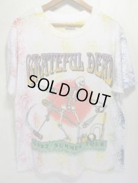 90s Grateful Dead グレイトフルデッド 総柄 ツアー Tシャツ SIZE L