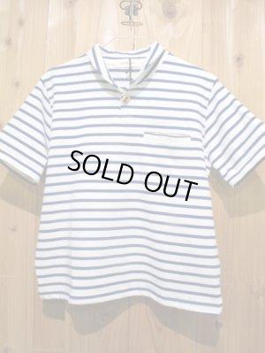画像5: スペシャルSALE!!\7980→\2900 !LAMOND ショールカラーポロシャツ ladys WH × BL
