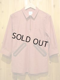 SALE!\17850 → \10710 !送料込! ELNEST エルネスト IYOMANDE 7/S SHIRT 【RED】