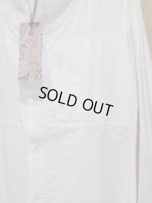 画像3: SALE!!定価¥10290! LAMOND スタンドネックシャツ WHITE
