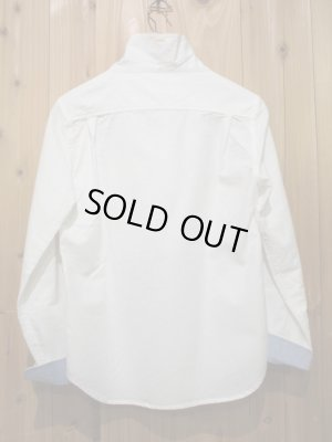画像5: SALE!!定価¥10290! LAMOND スタンドネックシャツ WHITE
