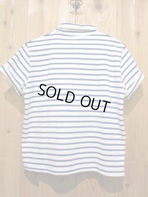 画像4: スペシャルSALE!!\7980→\2900 !LAMOND ショールカラーポロシャツ ladys WH × BL