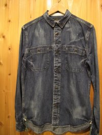 SALE!\20790→¥10000! Gypsy & sons 8oz DENIM WORKMAN SHIRT BLUE