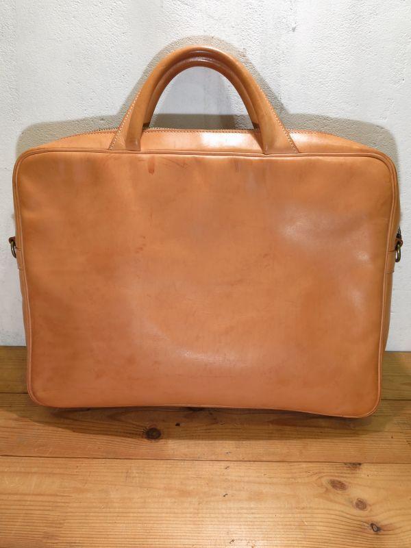 画像4: BREE ブリー ヌメ革 鞄 ブリーフケース トランク