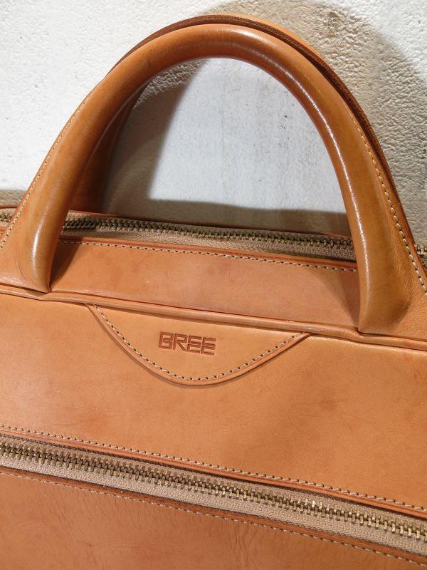 画像2: BREE ブリー ヌメ革 鞄 ブリーフケース トランク